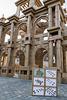 BESANCON: Place de la Révolution: Reconstitution de l'Arc de Triomphe en carton 07