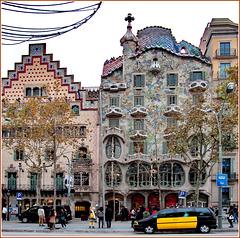Barcellona : Casa Amattller e Casa Batlló