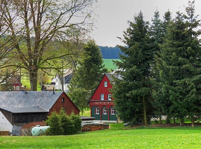 (117/365) Heute im Vogtland, Bad Brambach, Ortsteil Raun