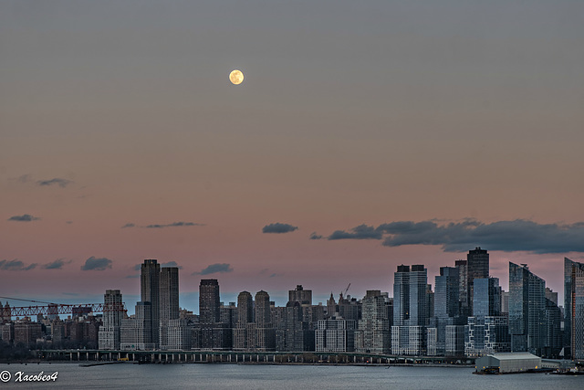 The first chance to see the Super Snow Moon monday Feb 18 2019