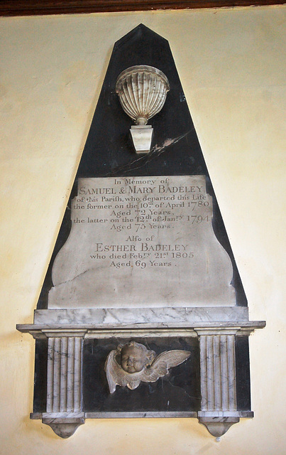 Badeley Memorial Chancel, St Mary's Church, Walpole, Suffolk