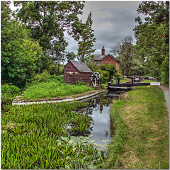 Crowther Hall Lock, Mongomery Canal