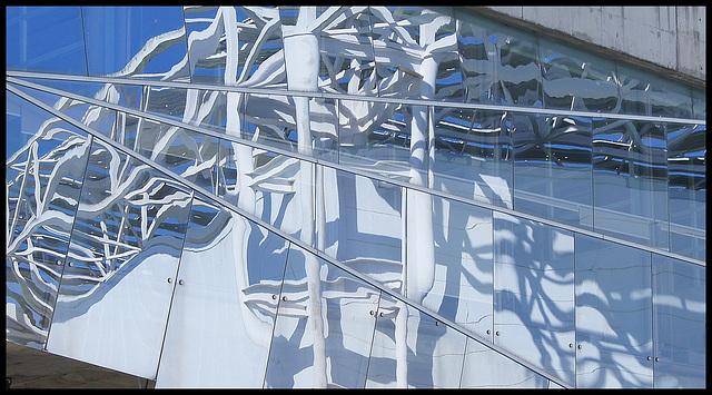 Lisbonne parc des nations reflet