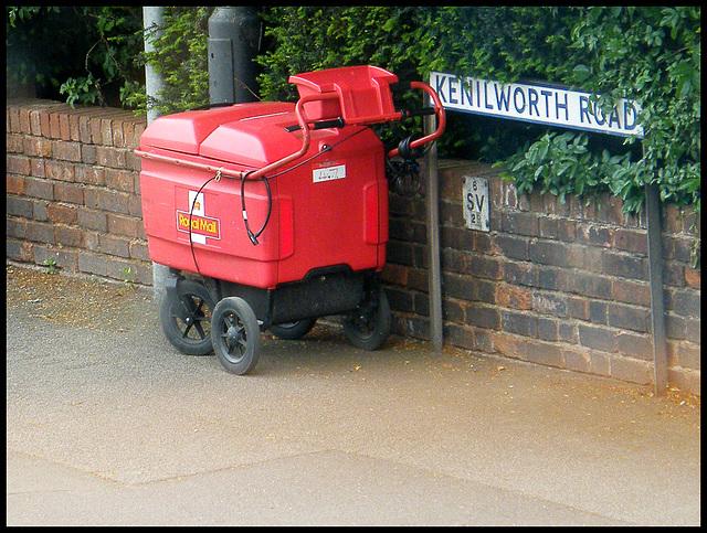 Royal Mail trolley