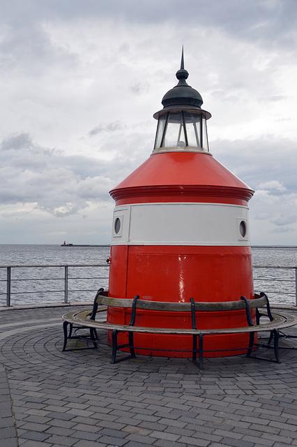 Das alte Leuchtfeuer am Eingang zum Hafen von Kopenhagen könnte bestimmt vieles erzählen