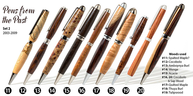 Pens From the Past, Set 2