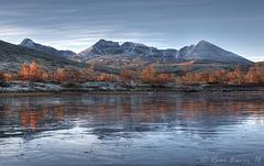 Early morning in Dørålen in the Rondane mountains.