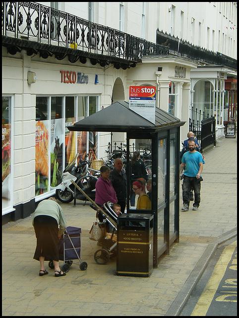 Leamington bus shelter