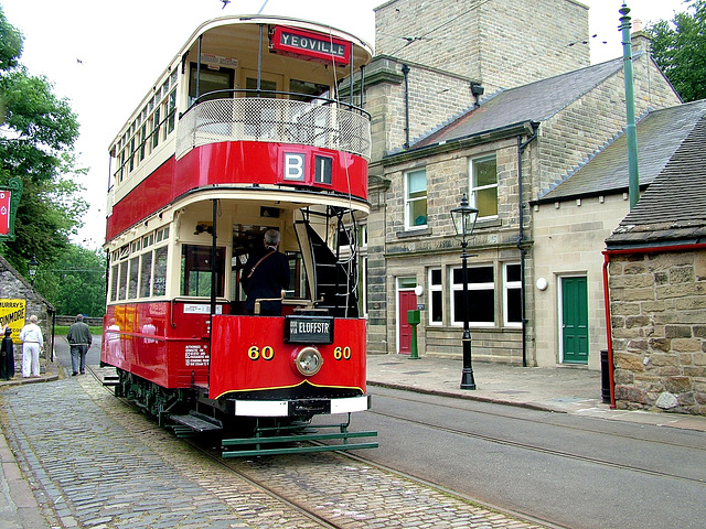 Ex Joanersberg Tram No.60 at Crich Tramway Museum 14th June 2006