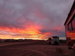 Quartzsite Sunset