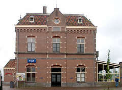 Station Enkhuizen, Nederland