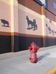 Cowboy's hydrant / Borne western
