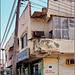 Oman :  Ṣalāla - un'altra via del centro - une maison prèt à tomber !