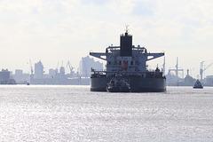 Hamburg arrival
