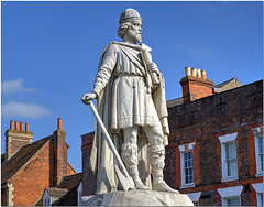 Statue of Alfred the Great, Wantage