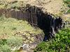 Basaltic formation and Maloás Creek.