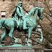 Reiterstatue Wilhelms I. auf dem Burgplatz/ Essen