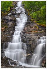 Ytre Iselva waterfalls