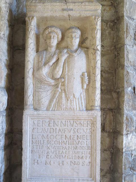 Musée archéologique de Split : CIL III, 9782.