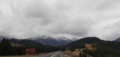 La Montaro Calimani, Orientaj Karpatoj
