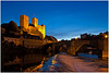 Runkel at blue hour