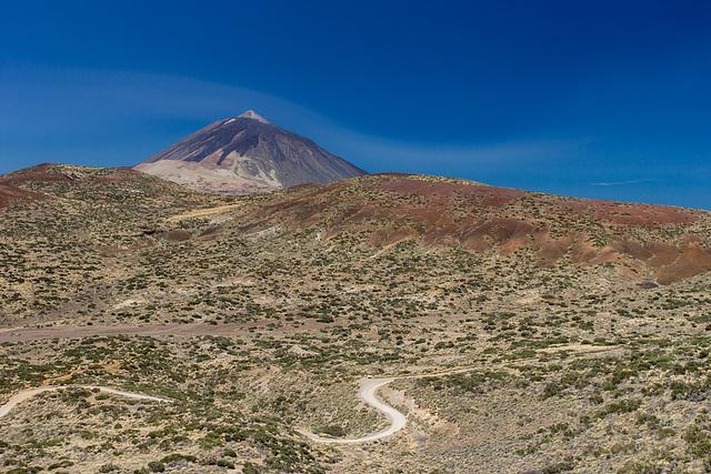Canary Islands - Tenerife - Pico del Teide view from the Mirador de Izaña