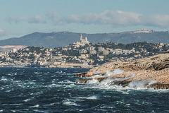 Exceptionnel Mistral hier aux Goudes.....................(Marseille).