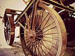 Big-wheel logging
