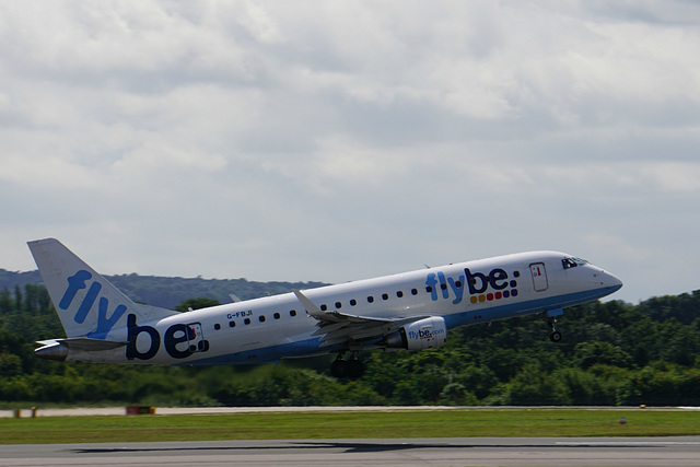 G-FBJI departing Manchester - 11 July 2015