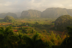 Sunrise in Valle de Viñales