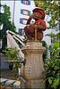 Der Affenbrunnen auf dem Andreasplatz