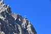 Halbmond über den Dolomiten