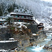 Japan, Hot spring Korakukan Guest House (Ryokan) in the Valley of Yokoyu River