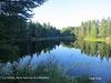 Lac Solitaire, Îles de la Madeleine