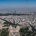 Panorama-Vue de la Tour Eiffel