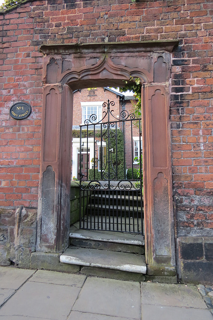 bishop's house, chester