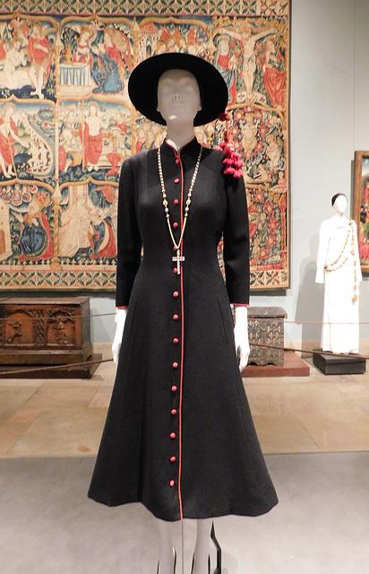 Il Pretino Dress by Micol Fontana in the Metropolitan Museum of Art, September 2018