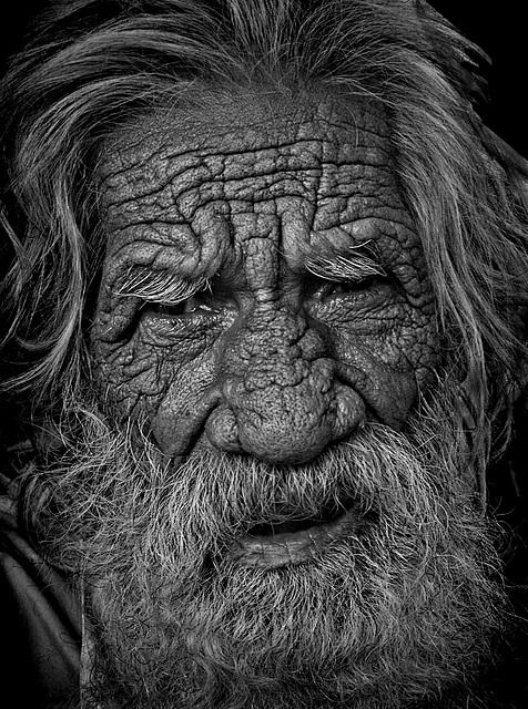 old man of Haridwar India