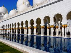 Abu Dhabi : La grande moskea Zayed - (974)