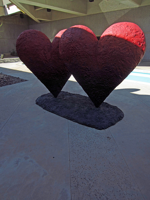 Twin Hearts at Palm Springs Art Museum (3192)