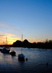 Sunrise at Dumbarton Rock