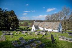 Llangar graveyard