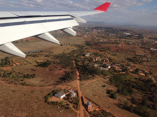 Atterrisage, Antananarivo.