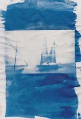 cyanotype sur calque