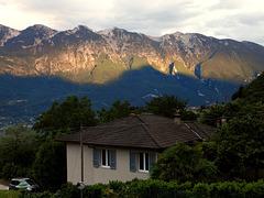 Abendlicht am Monte Baldo. ©UdoSm