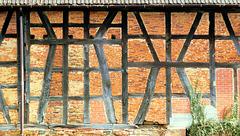 Altes Fachwerk: In Ranstadt (PiP)