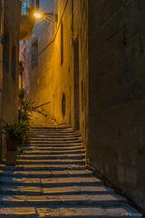 abends in den Gassen von Cottonera (© Buelipix)