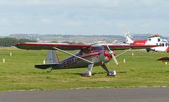 G-BRDJ at Solent Airport - 31 October 2018