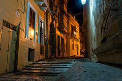 abends in den Gassen von Valletta (© Buelipix)