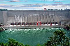Robert Moses Niagara Power Plant - 1986